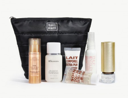 overnight travel beauty essentials toiletry kit
