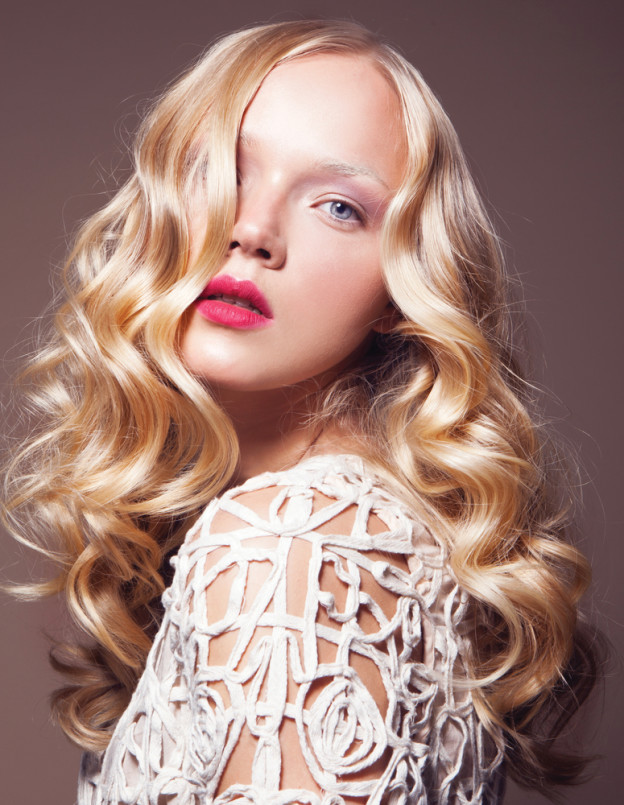 curly hair styling regimen
