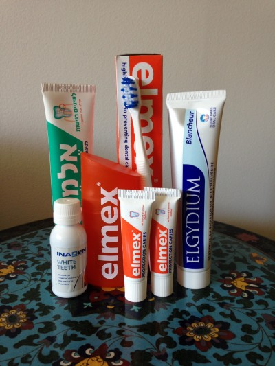 foreign toothpastes