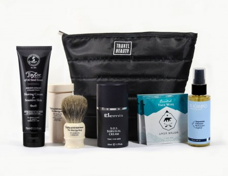travel beauty shaving kit
