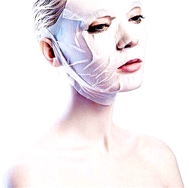 Cosmetics 27 Plasma 27 Mask on woman